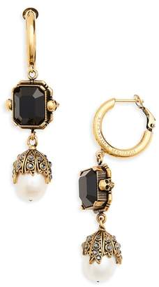 Alexander McQueen Pearl Drop Earrings