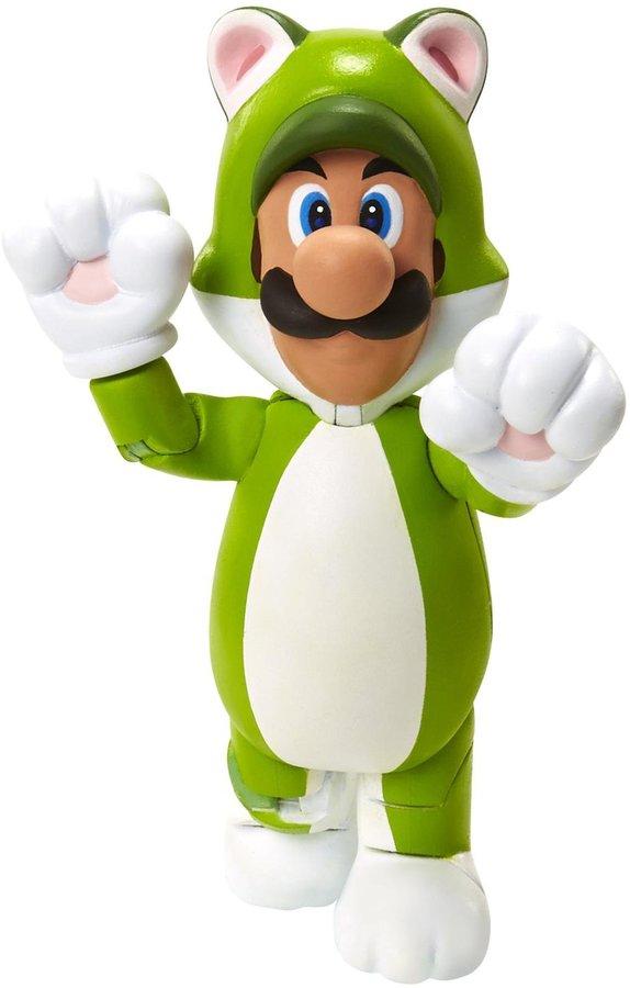 """Nintendo 4"""" Cat Luigi Figure Action Figure"""