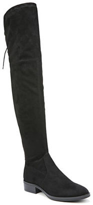 Sam Edelman Paloma Microsuede Over-The-Knee Boots $175 thestylecure.com