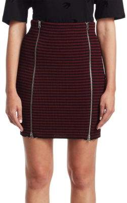 McQ Striped Bodycon Skirt
