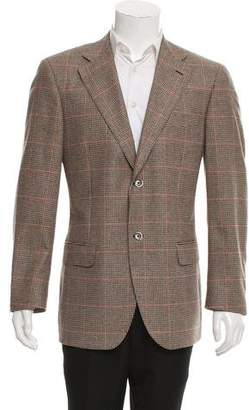 Luigi Bianchi Mantova Wool Two-Button Blazer