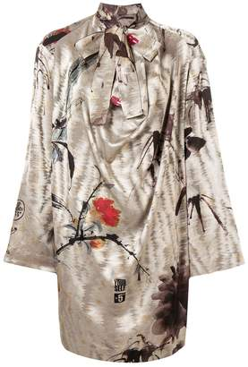 Vivienne Westwood long-sleeve flared dress