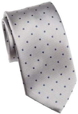 Saks Fifth Avenue COLLECTION Polka Dotted Tie