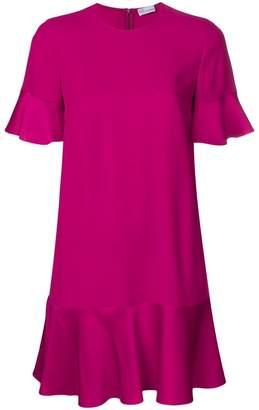 RED Valentino pleated mini dress