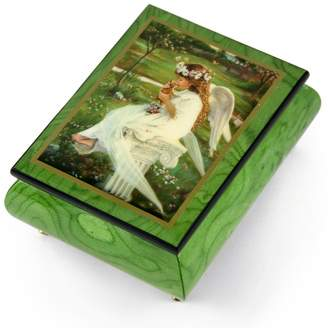 "Ercolano MusicBoxAttic Handcrafted Music Box Featuring ""Kitten Kisses"" by Sandra Kuck - I Only Have Eyes For You"