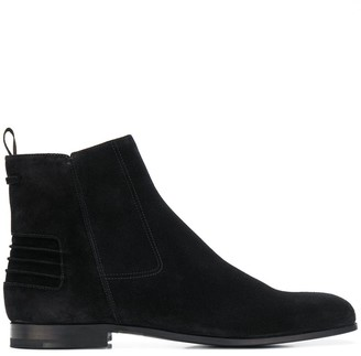 Car Shoe side zip ankle boots