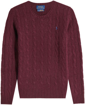 Polo Ralph Lauren Wool Cable Knit Pullover