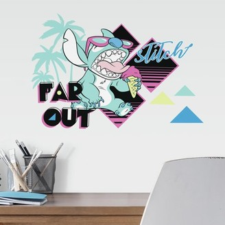 Roommates RoomMates Disney Stitch Far Out Peel and Stick Wall Decals