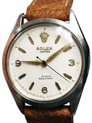 Rolex Oyster Royal Shock Resistant 6444 Vintage Mens 31mm Watch $3,500 thestylecure.com