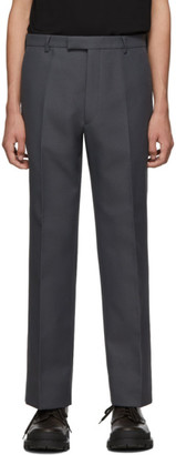 Prada Grey Classic Fit Trousers