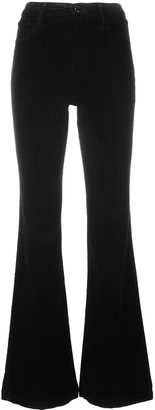 J Brand 'Maria' flared trousers $288.20 thestylecure.com