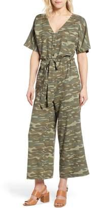 Caslon Linen Blend Jumpsuit