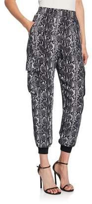Alice + Olivia Jadon Pull-On Cargo Pants
