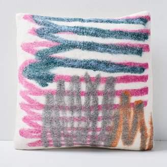 west elm Felt Gestural Art Pillow Covers