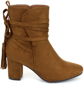 Tan City Bootie $49.99 thestylecure.com