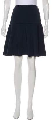Lafayette 148 Yoke Knee-Length Skirt