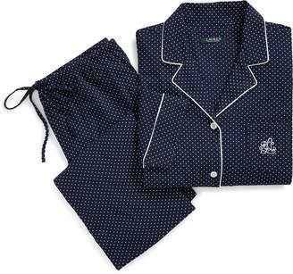 Lauren Ralph Lauren Ralph Lauren Polka-Dot Capri Pajama Set