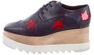 Stella McCartney Elyse Star Platform Oxfords