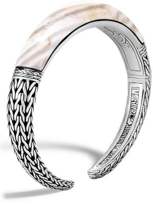 John Hardy Classic Chain Small Graduated Kick Cuff Bracelet