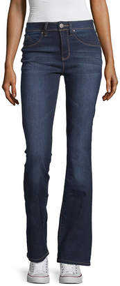 YMI Jeanswear Womens High Waisted Flare Jean - Juniors