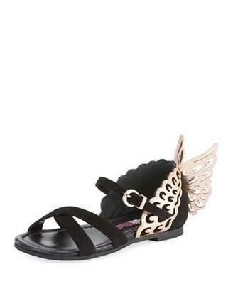 Sophia Webster Evangeline Crisscross Butterfly-Wing Sandals, Toddler/Kid