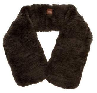 Cassin Knit Fur Stole