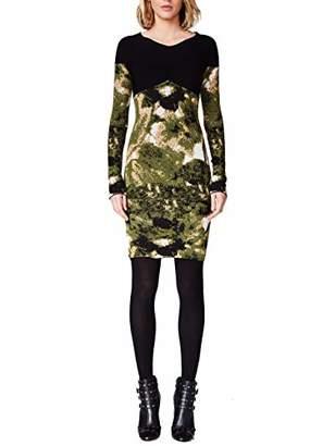 Nicole Miller Women's Double Knit Dress