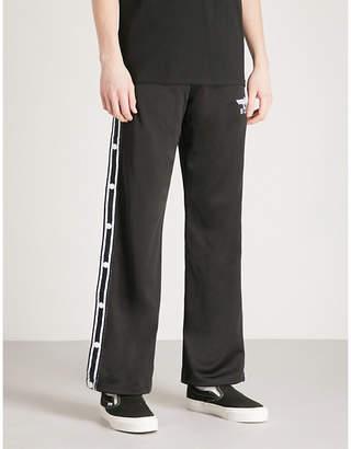Boy London Popper-fastened jersey jogging bottoms