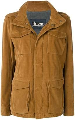 Herno patch pocket jacket
