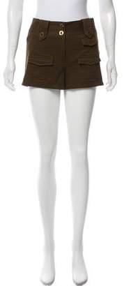Diane von Furstenberg Mid-Rise Fawcett Shorts