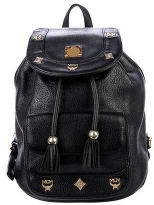 MCM Vintage Mini Leather Backpack