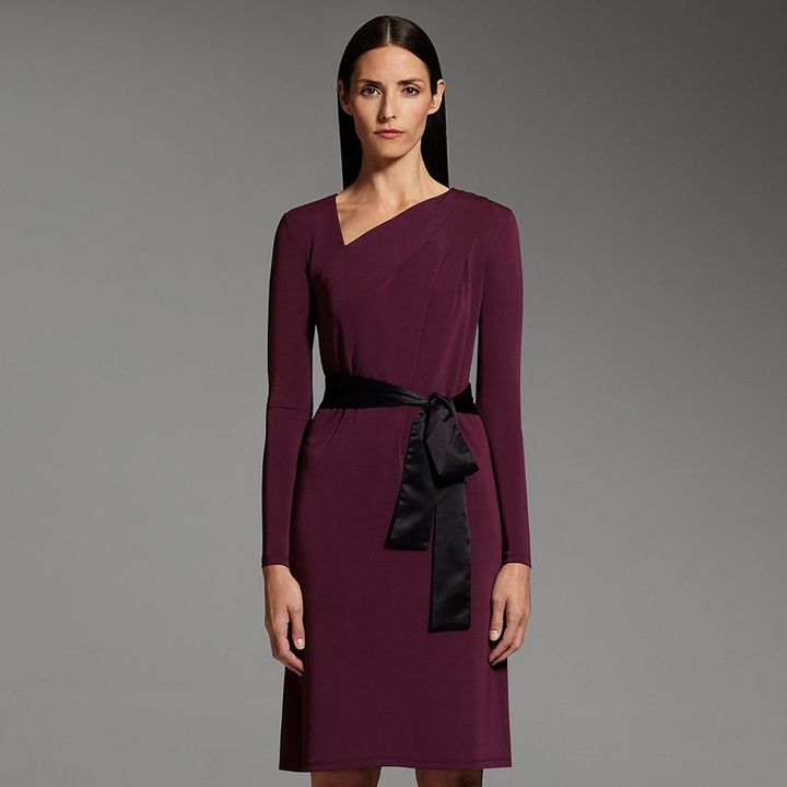 Narciso Rodriguez for designation pleated shift dress