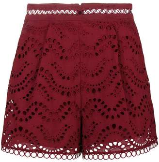 Zimmermann broderie anglaise shorts