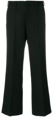 Maison Margiela pleated wide leg trousers