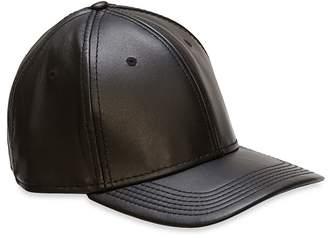 Gents Black Leather Cap $98 thestylecure.com
