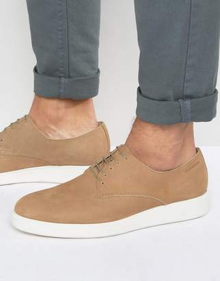 Vagabond Zack Brogue Wedge Derby Shoes