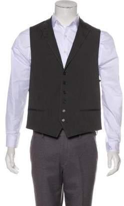 John Varvatos Woven Suit Vest
