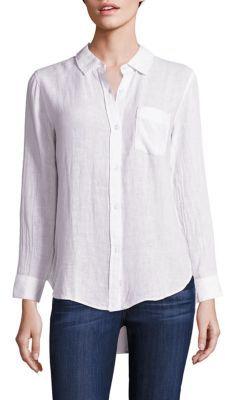 Rails Charli Solid Shirt $148 thestylecure.com