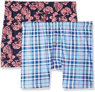 Tommy Bahama Men's Island Plaid Boxer Brief Set