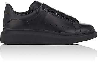 Alexander McQueen Men's Oversized-Sole Leather Sneakers