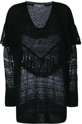 Stella McCartney ruffle neck sweater