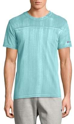 Champion Bleached Wash Crewneck Cotton T-Shirt
