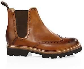 Grenson Men's Arlo Wingcap Brogue Chelsea boots