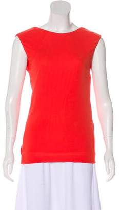Alexander Wang Sleeveless V-Neck Blouse