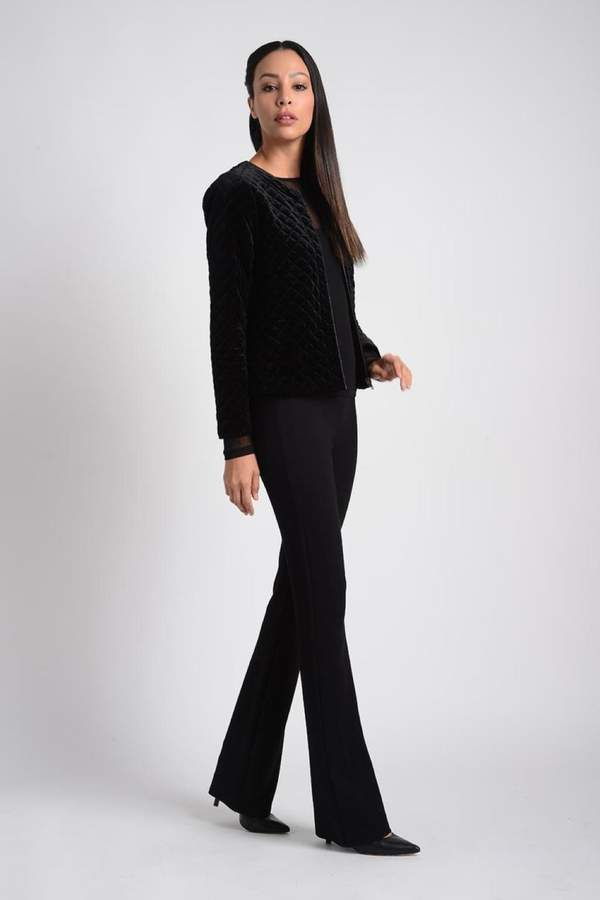 Lynn Ritchie Black Quilted Jacket
