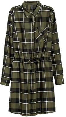 H&M Shirt Dress - Green
