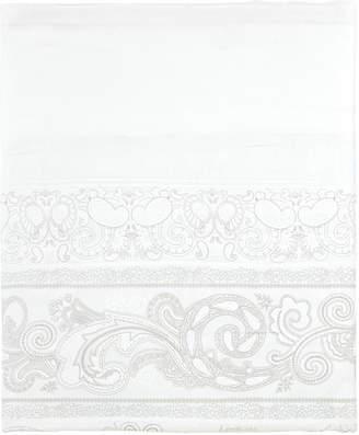 Claude Anne De Solene Majeste 300 Thread-Count Paisley King Flat Sheet