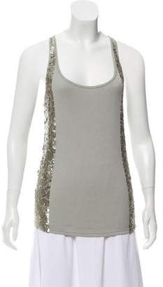 Richmond X Sequin Accented Sleeveless Top w/ Tags