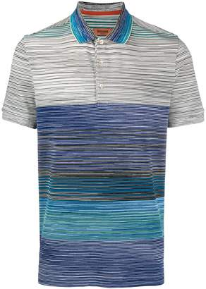 Missoni marled polo T-shirt