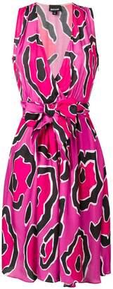 Just Cavalli Panther print dress